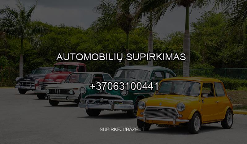 superkame auto visus bajoru supirkimas