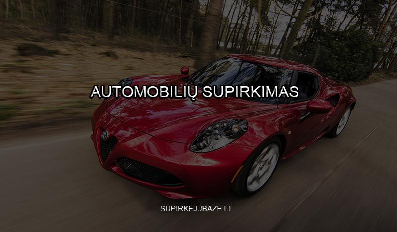 superkame visus automobilius